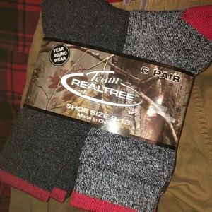 🔥 SALE!!!! 🔥 🧦 6 Pk Men's Realtree Crew Socks